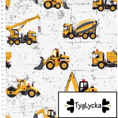 Stof Tyglycka bouwplaats