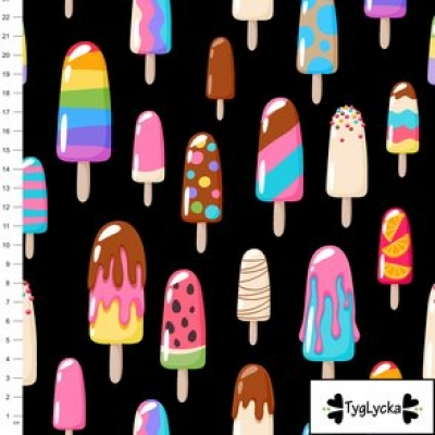 Keuze stof ijsjes